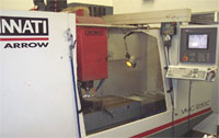 Cincinnati Machining Centre Closeup
